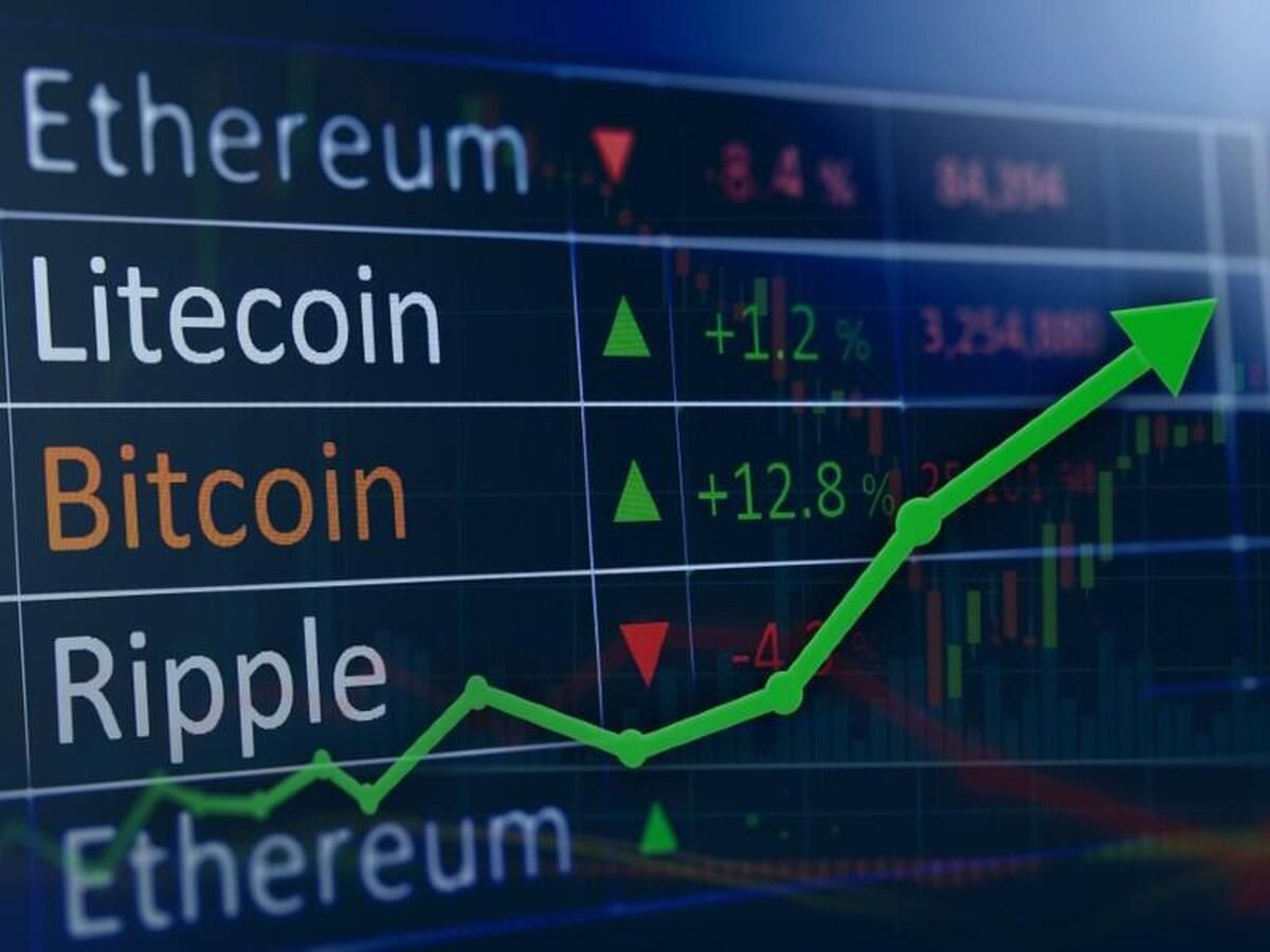 cryptocurrency values